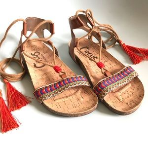 Circus by Sam Edelman Tassel Sandals